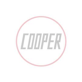 Classic Mini Cooper Knurled & Badged Seat Tilt Knobs - Silver