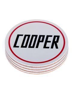 Cooper coasters set