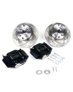 "MCPBRK.8.4S-B Mini Cooper 8.4"" Brake Kit with Black Alloy Calipers"