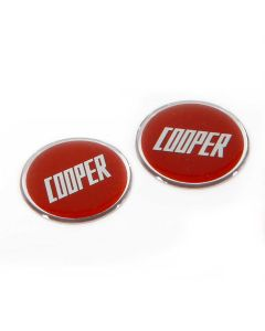 MCPXS.BADGE-R Cooper Red Badge Emblem