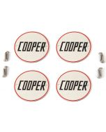 Cooper Wheel Badges inc holes