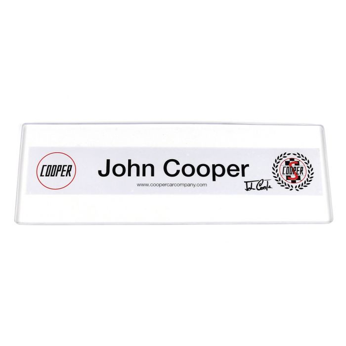 John Cooper Rear Window Sticker