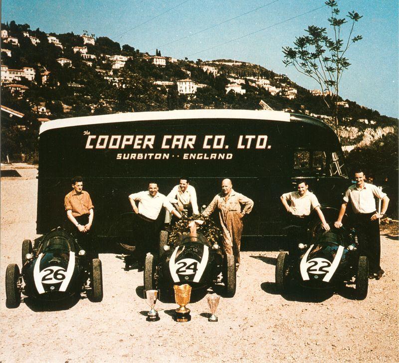 1959 - Cooper Cars win Consecutive Formula 1 Championships