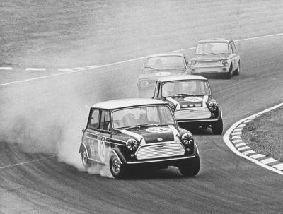 1965 - Mini Cooper Works Team wins in Circuit Racing