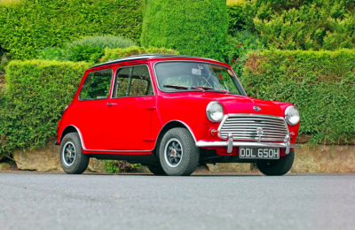 The History Of The Mini Cooper