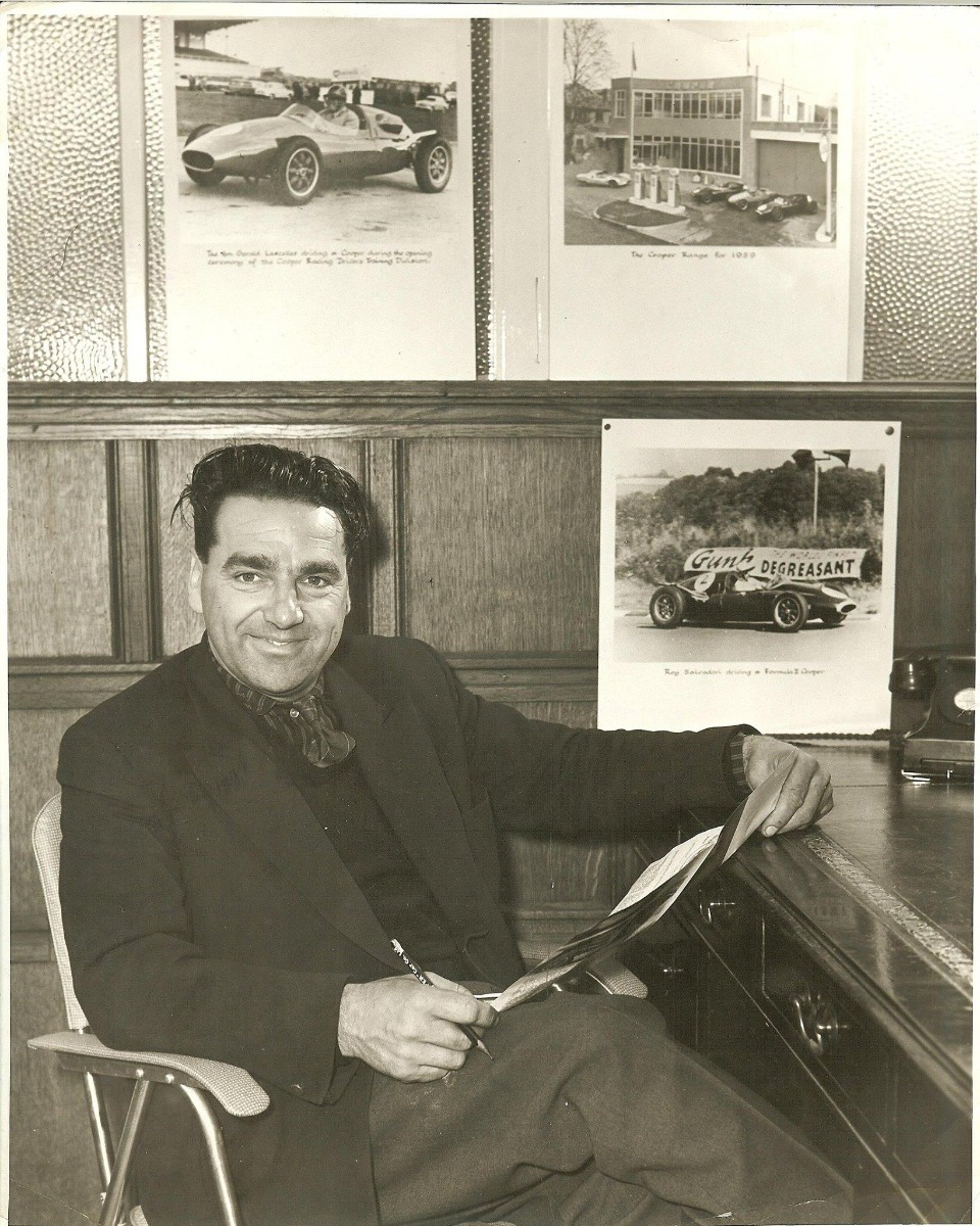 John Cooper - the man behind the Mini Cooper.
